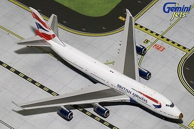 GEMINI JETS 1:400 BOEING 747-400 British Airways VictoRIOUS GJBAW1593