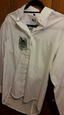 Ladies Dublin Equestrian Competition Shirt. Size 12 with tags
