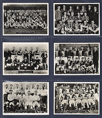 Ardath FOOTBALL CLUBS of LONDON & SOUTHERN COUNTIES (Photocards 'F') - SET