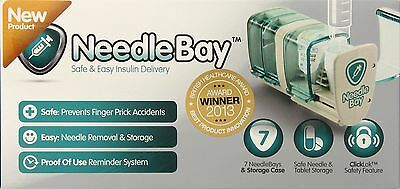 NeedleBay Insulin System for Controlling & Organising Diabetes Medication NEW UK