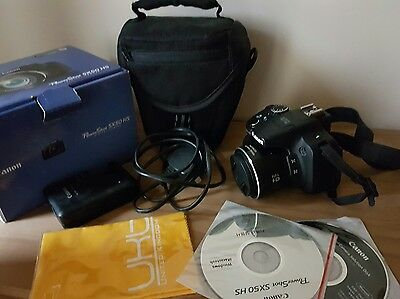 Canon PowerShot SX50 HS 12.1MP Digital Camera - Black