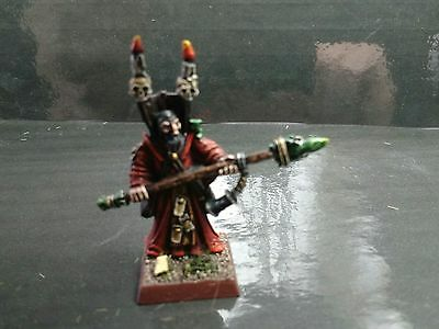 warhammer empire mordheim warlock pro painted excellent condition.