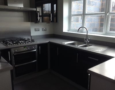 Symphony Kitchen Units - High Gloss Black