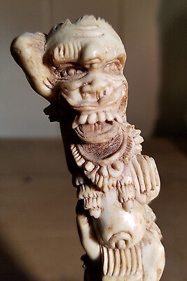 Antique Indonesian Demonic Carving Raksha