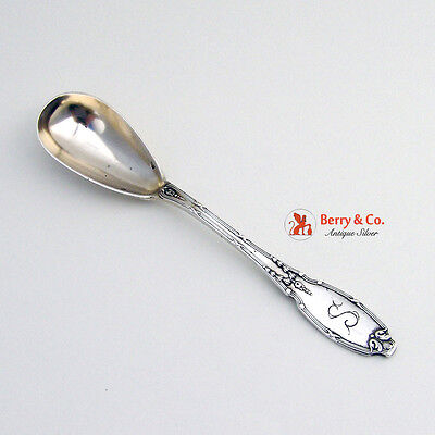 Egg Spoon Continental Silver 1900
