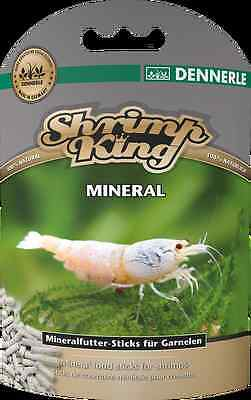 DENNERLE SHRIMP KING MINERAL Food Freshwater Crystal Red Cherry Taiwan Bee Tiger