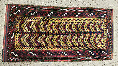 Antique Baluch Belouch Balisht Cushion Cover Mafrash
