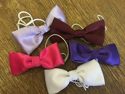 Kids Childrens Bow Tie - Wedding Special Occasion Pre Tied Elasticated