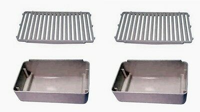 Combo Pack (2) Drip Pans and (2) Drip Pan Cover Replaces Crathco 2231 & 2232