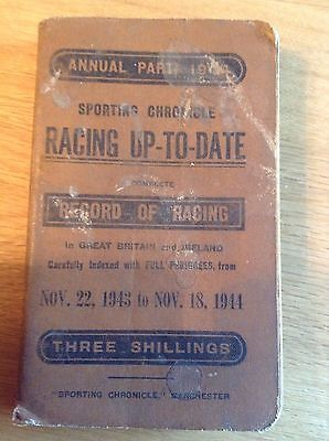 1944 Sporting Chronicle Racing Up-To-Date annual, horse racing