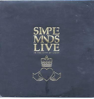 """Simple Minds - Live In The City Of Light - 12"""" Vinyl Lp (Double)"""