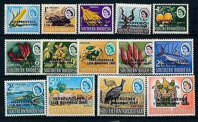 [102660] Southern Rhodesia 1965 Good set VF MNH stamps Value $45