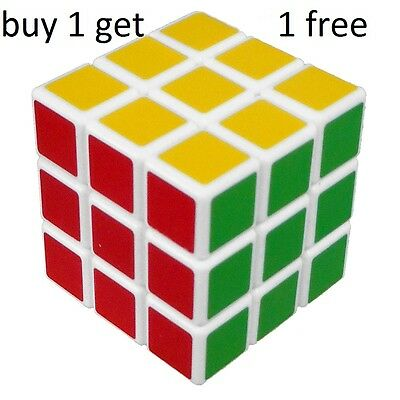 New Rubik's Cube Rubiks Rubix Cube Puzzle Mind Game Toy Classic buy 1 get 1 free