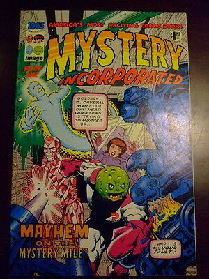 1963 #1 Mystery Incorporated VFN+ Image Alan Moore 1993