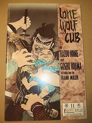 Lone Wolf and Cub #11 1988 First Publising
