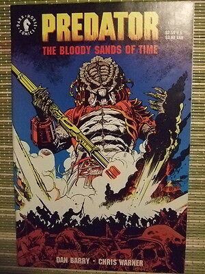 Predator: The Bloody Sands of Time #1,2 NM- Complete mini-series Dark Horse 1992