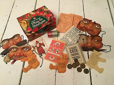 Past Times Victorian Christmas Fun and Games Vintage Masks & Games - New Boxed