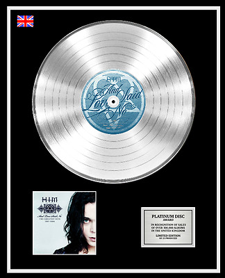 HIM Ltd Edition CD Platinum Disc Record AND LOVE SAID NO