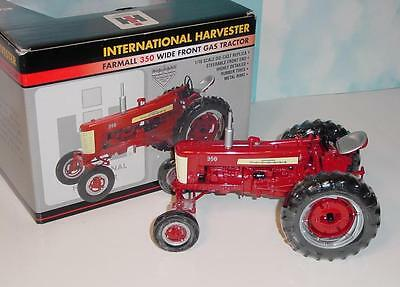 "1/16 Farmall 350 Gas ""High Detail"" Wide Front Tractor NIB!"
