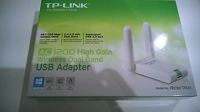 TP-Link Archer T4UH AC1200 High Gain Wireless Dual Band USB 3.0 WiFi Adapter