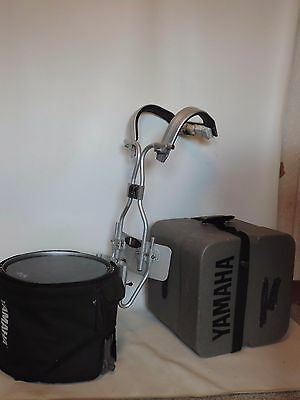 Yamaha  SFZ  High Tension Marching Band Snare Drum + Carrier Case Cover