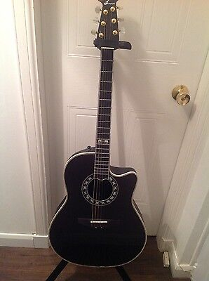 Ovation 30th Anniversary Model - Rare 1996 Limited Edition Of 1280 Guitars