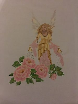 Fairy Completed Cross stitch With Beading