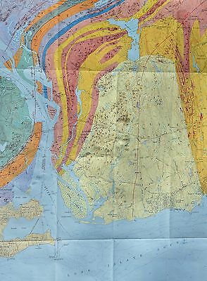Geologic Map of Old Lyme, CT  Incl Knollwood, Fenwick, Old Saybrook, Laysville,