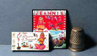 Dollhouse Miniature 1:12  I Dream of Jeannie Game  1960s dollhouse girl game toy