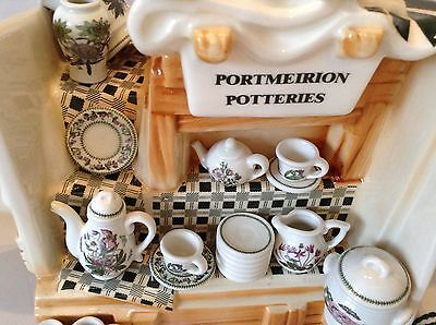 Portmeirion Collectable Novelty  Large China Stall Teapot Perfect Condition