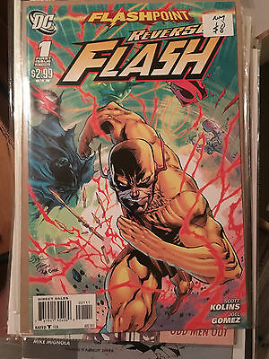 FLASHPOINT REVERSE FLASH #1 NM 1st Print Andy Kubert Cover