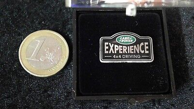 Land Rover Jeep Expierence 4x4 Logo Pin Badge in Etui Driving selten rar