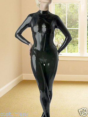 100%Latex Rubber Tights Full-body Unique Catsuit Cool Suit available XS-XXL
