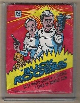 1979 topps buck rogers wax pack sealed