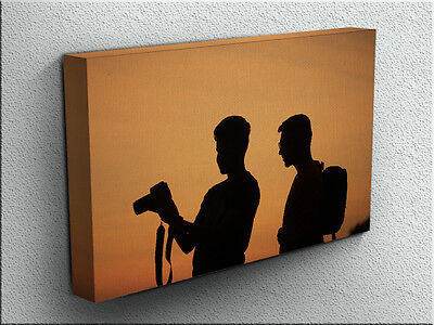 PHOTOGRAPHERS LARGE 30 x 20 inches CANVAS PRINT HIGH QUALITY wall art picture