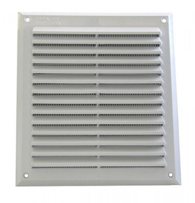 Plastic Grille 225x225 Mm écrans insect-proof Construction Ventilation