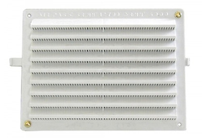 Plastic Grille 150x200 Mm Ecrans insect-proof Ventilation réglable Construction