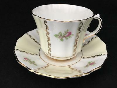 2 Sets Vintage Sampson Smith Old Royal China Cups & Saucers #2976 #2975 1930's