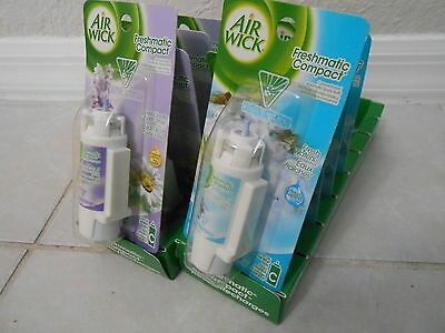 10 Air Wick Freshmatic Compact Spray 2 different  fragranc Refills new ///
