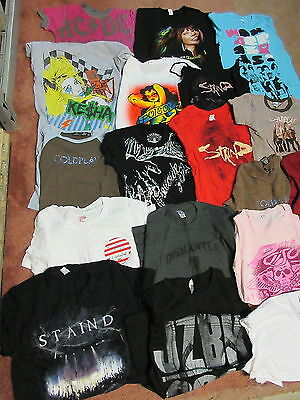 New - 50 Diff Wholesale Girls U2 Korn Kesha Jay Z Madonna Music T-Shirt Sm / 2Xl