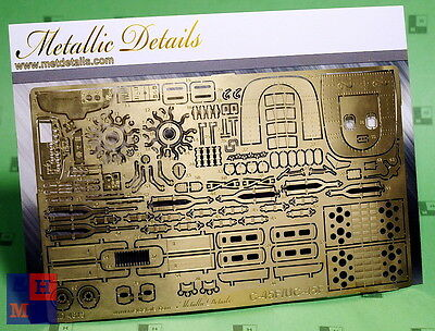"""1/48 Beechcraft C-45F p.e. set, by Metallic Details"""" MD 4815, for """"ICM"""" kit"""