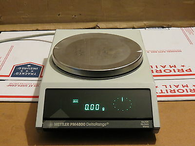 Mettler PM-4800 DeltaRange  Digital Top Load Precision Balance PM4800