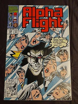 Alpha Flight 104 (Jan, 1991, Marvel) VF