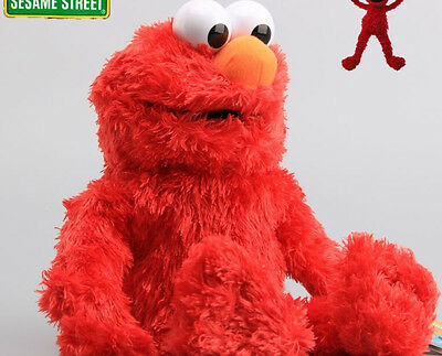 35CM Sesame Street Elmo Plush Hand Puppet Play Games Doll Toy Puppets New 2017