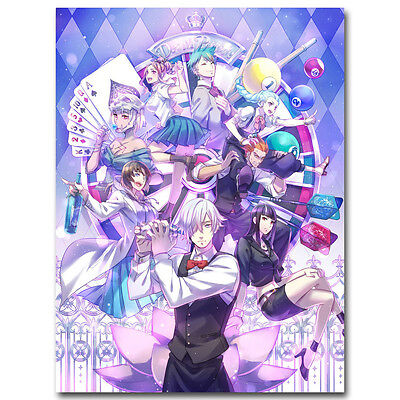 Death Parade 2 Anime Art Silk Fabric Poster Print 13x18 24x32 inch