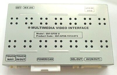 Video Interface GVIF for Land Rover Discovery 3 2005~ Range Rover LR3,HSE,LR2