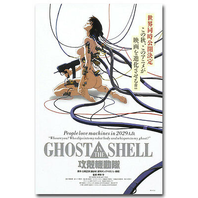 GHOST IN THE SHELL Anime Movie Art Silk Fabric Poster Print 12x18 24x36 inch