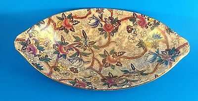 Antique/Vintage Maling Lustre Chintz Serving Dish-Newcastle On-Tyne-England