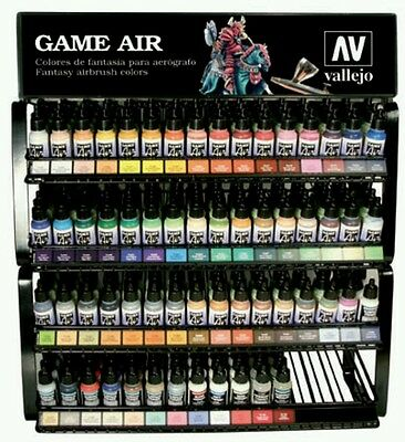 Vallejo Game Air Full Range of 51 Acrylic Paint Set 17ML Bottles COLORS ONLY