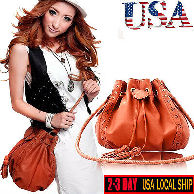 Ladies Handbag Shoulder Bag Tote Purse Fashion Leather Women Messenger Hobo Bags